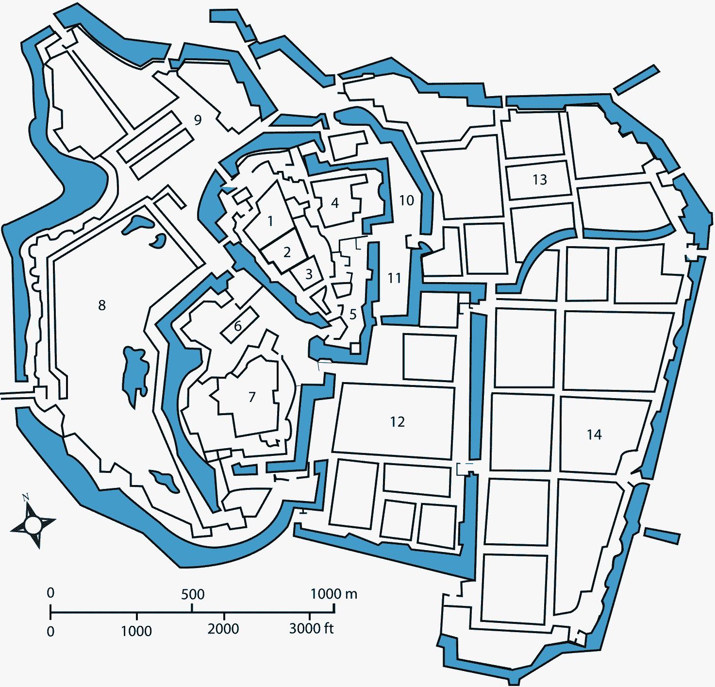 Himeji Castle Floor Plan 歴史 日本史